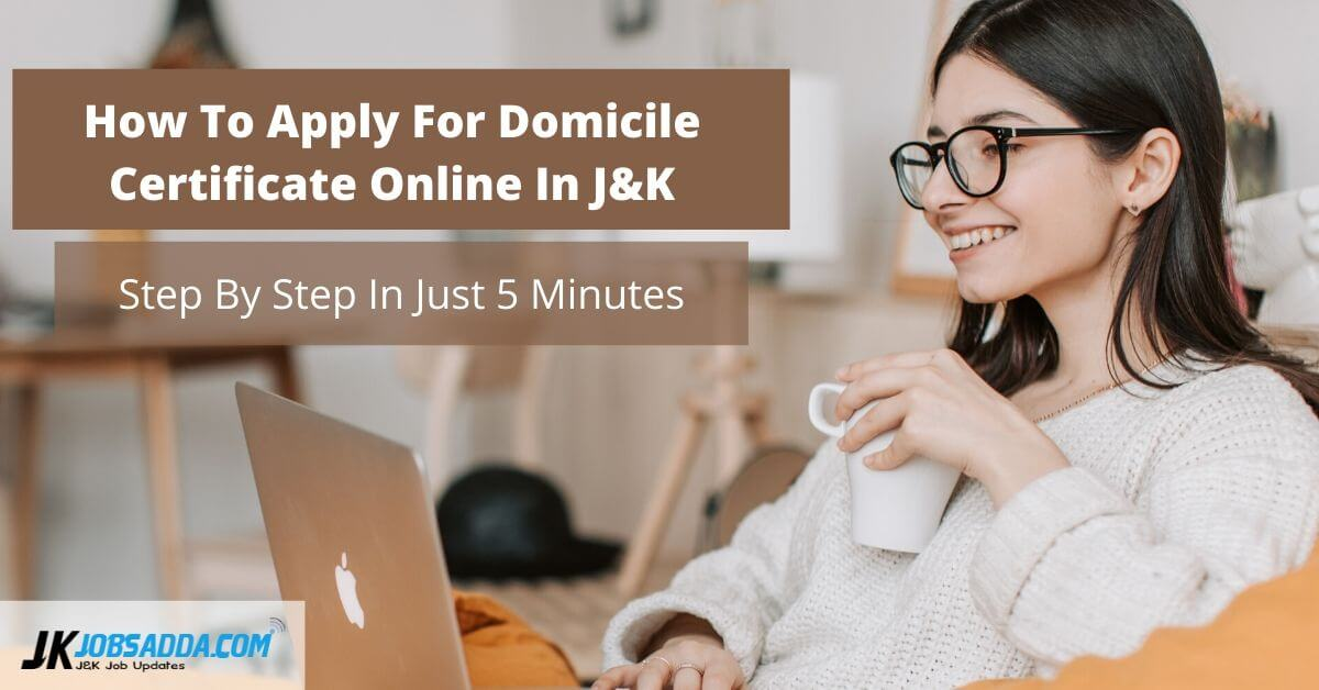 How To Apply For Domicile Certificate Online