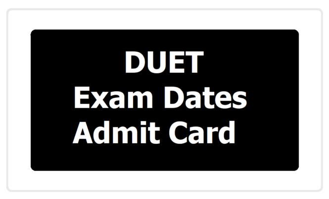 Delhi University DU UG Entrance Exam Date 2020
