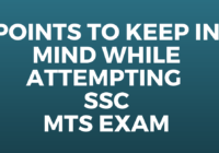 Points to Keep in Mind While Attempting SSC MTS Exam